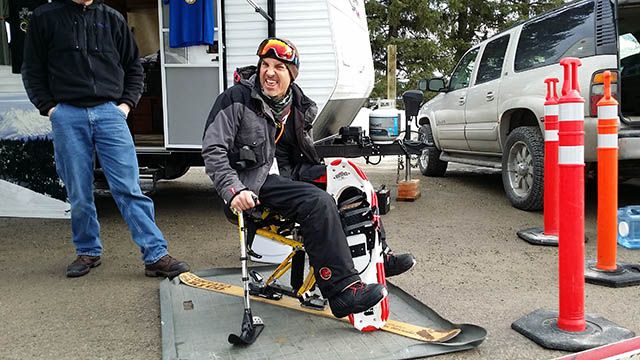 Randy - Redfeather Snowshoes Winner