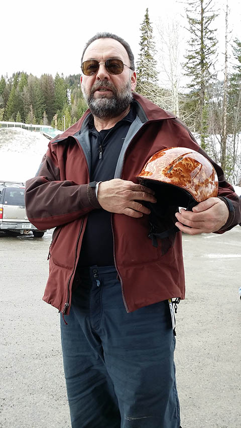 Ron - Dome Design Helmet Winner