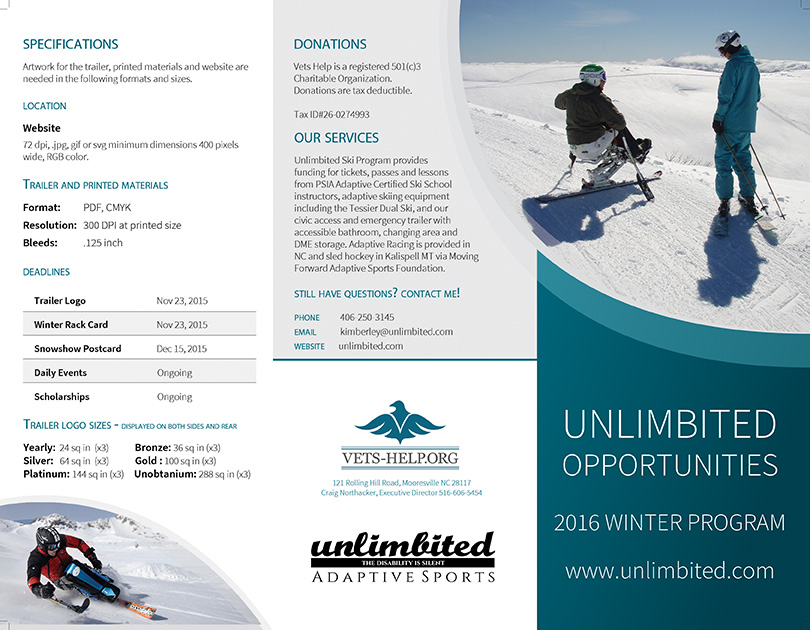 Unlimbited Opportunities Info and Specs