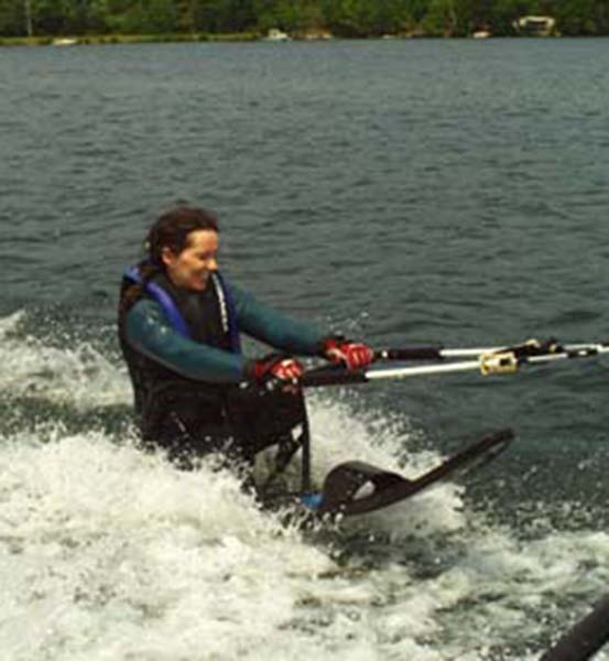 Waterskiing at Squam Lake