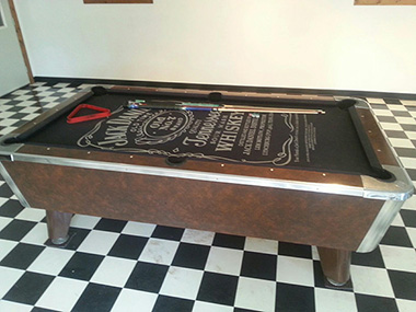 Unlimbited Jack Daniels Pool Table Raffle - Jack daniels pool table