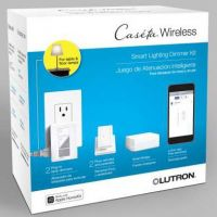 Caseta Wireless Plugin lamp dimmer kit with Smart Bridge